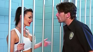 Sexy prisoner is getting fucked